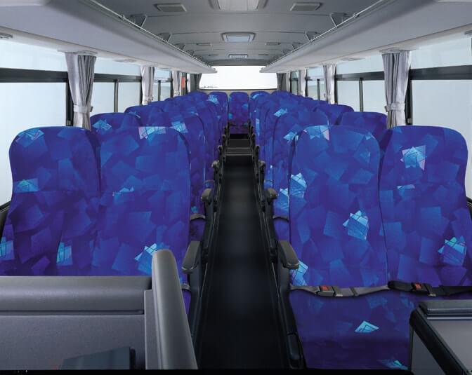 中型バス 内観
