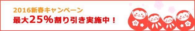 2016新春キャンペーン