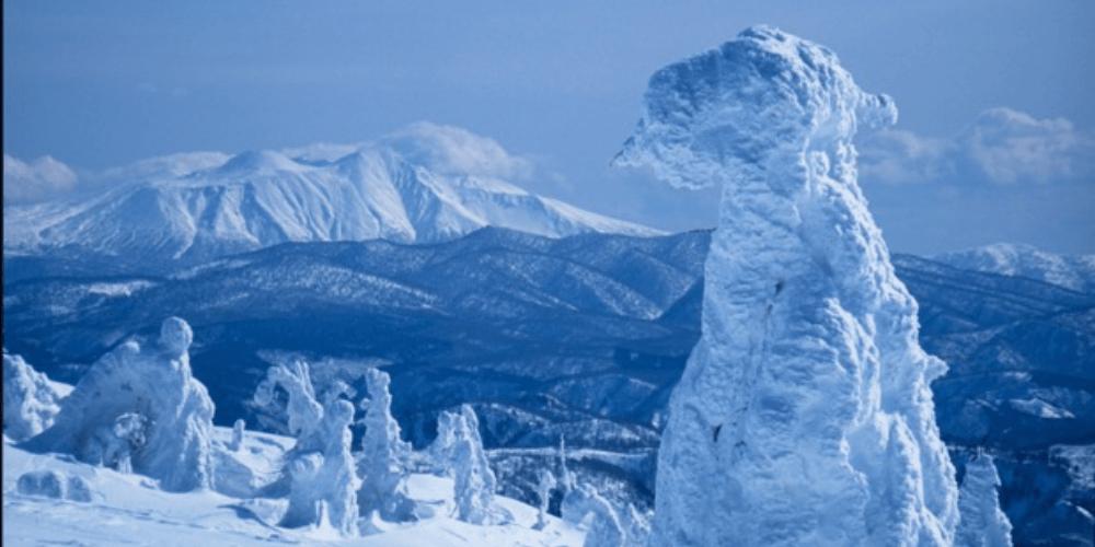 秋田の雪景色