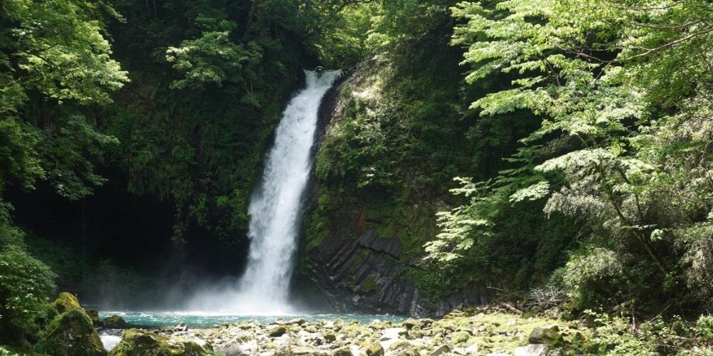 浄蓮の滝山