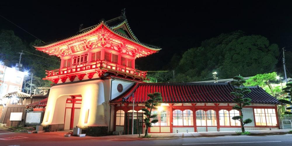 武雄温泉大衆浴場の楼門