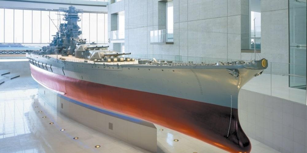 大和ミュージアムの戦艦ヤマト